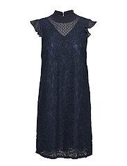 Svala Lace Dress - MIDNIGHT MARINE