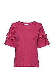 Vicky T-shirt- MIN 3 - FUCHSIA ROSE