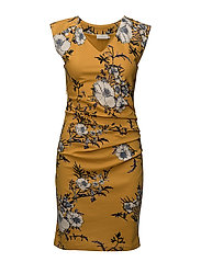 Lin India Dress - NUGGET GOLD