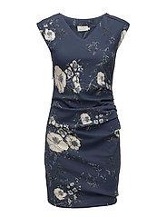 Lin India Dress - VINTAGE BLUE