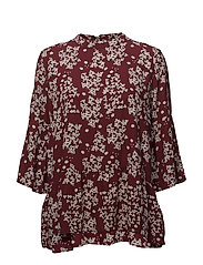 Nicole Blouse - SUN-DRIED TOMATO