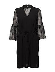 Mary-Ann Dress - BLACK DEEP