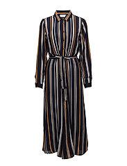 Alette Shirt Dress - MIDNIGHT MARINE
