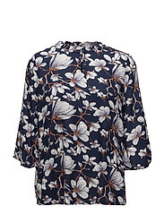 Pisabel Blouse- MIN 2 - DARK BLUE
