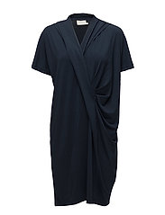 Malin Dress - MIDNIGHT MARINE