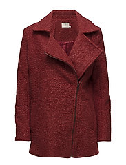 Lulu boucle coat- MIN 4 PCS - SUN-DRIED TOMATO