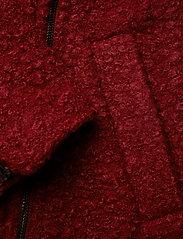 Kaffe - Lulu boucle coat- MIN 4 PCS - wool jackets - sun-dried tomato - 4