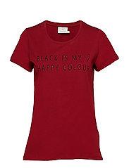 Black T-shirt- MIN 2 - SUN-DRIED TOMATO/50600