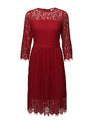Sille Dress - FLAME SCARLET