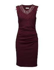 Tara India Dress - ZINFANDEL