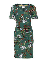 Josefina India Dress - RAIN FOREST