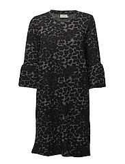 Leo Ninette Dress - DARK GREY MELANGE