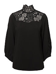 Ninna Blouse - BLACK DEEP