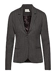 Lya Jillian Blazer - DARK GREY MELANGE