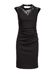 Dita India Dress - BLACK DEEP