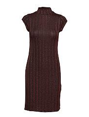 Bella Dress- MIN 16 PCS - HAUTE RED / BLACK
