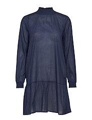 Lunette Dress - MIDNIGHT MARINE