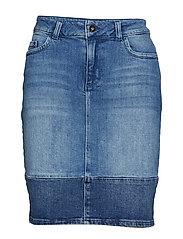 KAlida Jeans Skirt - MEDIUM BLUE DENIM