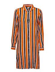 KAdolly Maxi Shirt - ORANGE MAPLE
