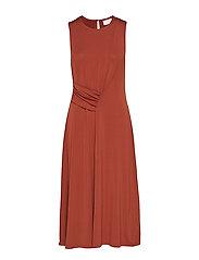 KAmalin Dress - CHERRY MAHOGANY