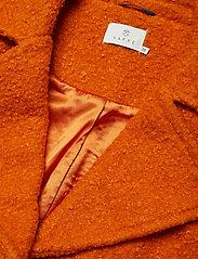 Kaffe - KAbella Boucle Coat Min 4 pcs - wełniane kurtki - burnt orange - 2