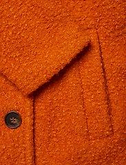 Kaffe - KAbella Boucle Coat Min 4 pcs - wełniane kurtki - burnt orange - 3