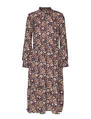 KAselly Midi Dress - MIDNIGHT MARINE