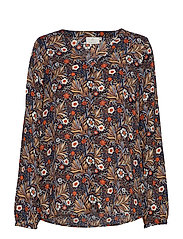 KAselly Shirt Blouse - MIDNIGHT MARINE
