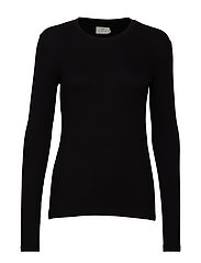 KAlia Long Sleeve T-shirt - BLACK DEEP