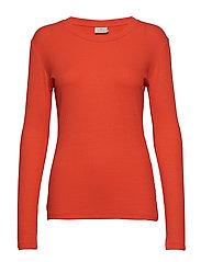 KAlia Long Sleeve T-shirt - CHERRY TOMATO