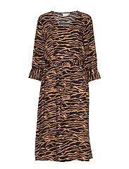 KAseba Dress - TIGER'S EYE