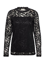 KAvilli Lace blouse - BLACK DEEP