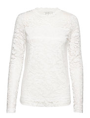 KAvilli Lace blouse - CHALK
