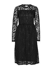 KAvilli Lace Dress - BLACK DEEP