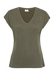 KAlise SS T-shirt - GRAPE LEAF