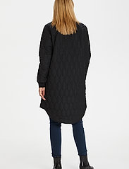 Kaffe - KAshally Quilted Coat - pikowana - black deep - 3