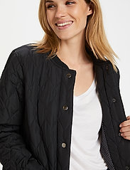 Kaffe - KAshally Quilted Coat - pikowana - black deep - 4