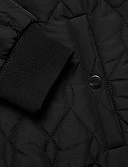 Kaffe - KAshally Quilted Coat - pikowana - black deep - 6