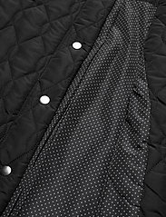 Kaffe - KAshally Quilted Coat - pikowana - black deep - 7