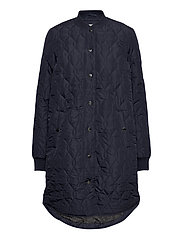 KAshally Quilted Coat - MIDNIGHT MARINE