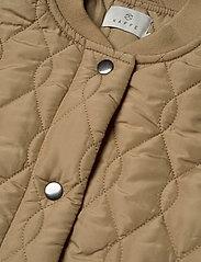 Kaffe - KAshally Quilted Coat - quiltade jackor - tannin - 5