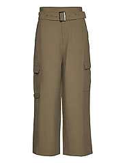 KAmargot Cropped Pants - GRAPE LEAF