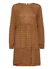 KAcama Amber Dress - THRUCH -BLACK DIAMONT LINES