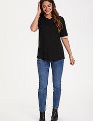 Kaffe - KAclara T-Shirt - t-shirts - black deep - 3