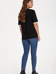 Kaffe - KAclara T-Shirt - t-shirts - black deep - 4