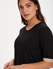Kaffe - KAclara T-Shirt - t-shirts - black deep - 5