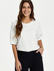 Kaffe - KAdana Linda Blouse - t-shirts - chalk - 0