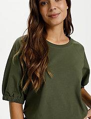 Kaffe - KAdana Linda Blouse - t-shirts - grape leaf - 4