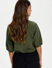 Kaffe - KAdana Linda Blouse - t-shirts - grape leaf - 5