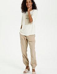 Kaffe - KAmarna SS T-Shirt - t-shirts - chalk - 3